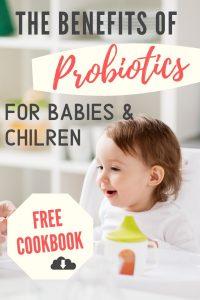 probiotics for babies and children, free cookbook