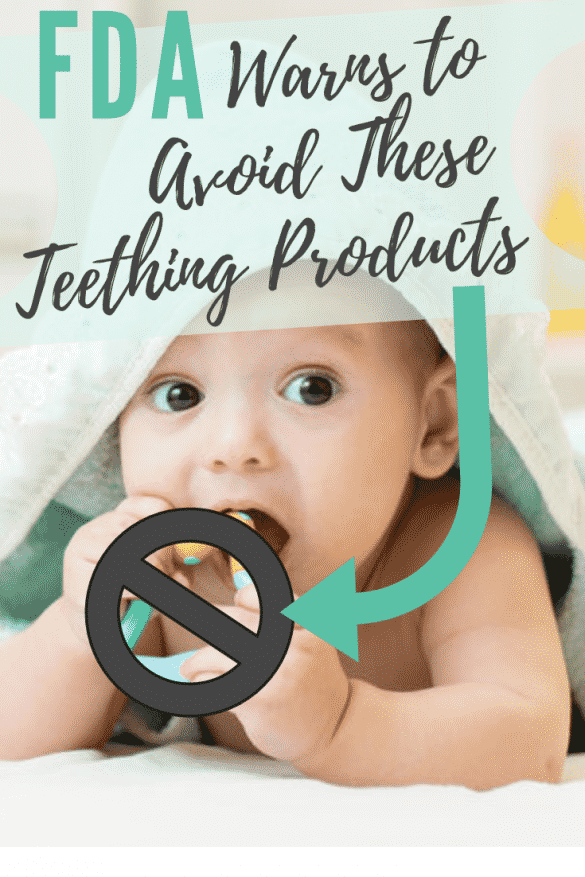 Dangerous Teething Products, teething tablets dangerous