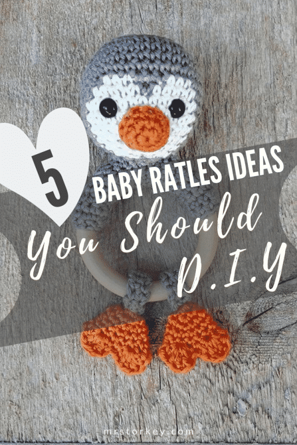 baby rattle ideas DIY