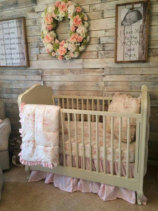 rusty baby girl room, nursery