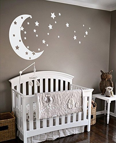 moon and stars baby nursery