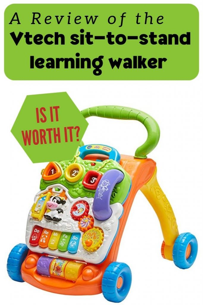 baby vtech sit-to-stand baby walker