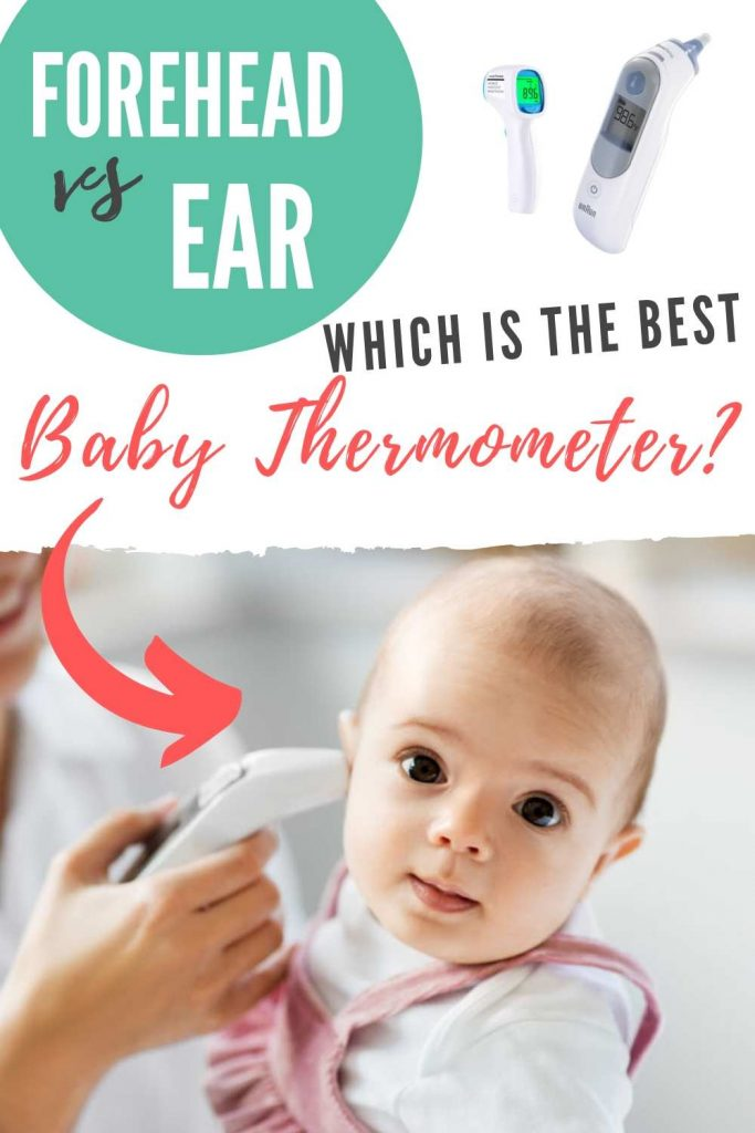 Best baby thermometer, Forehead vs ear thermometer