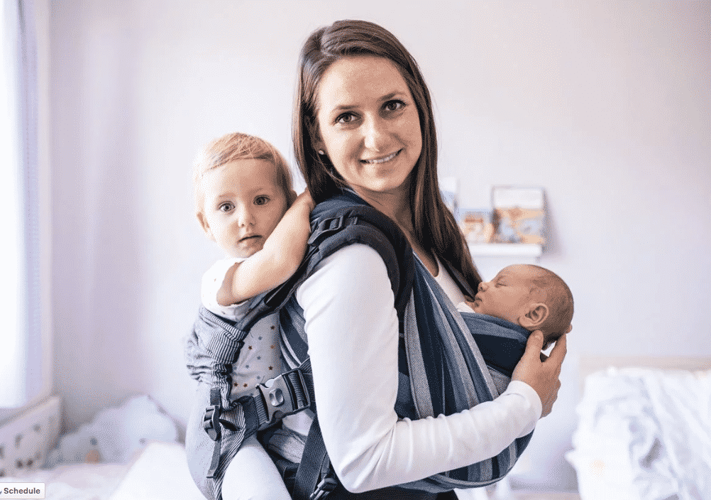 Baby carriers safe for newborns