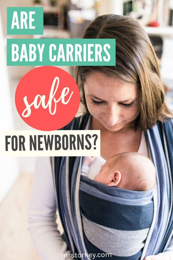 baby carriers baby wraps safe for newborns