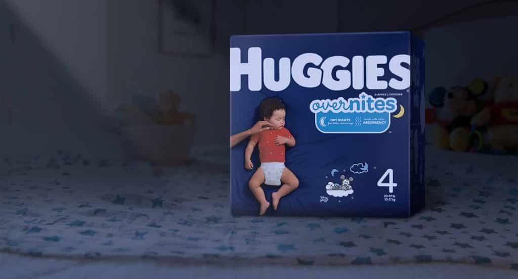 Huggies overnites night time diapers